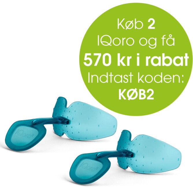 Køb 2 IQoro og få 570 kr i rabat