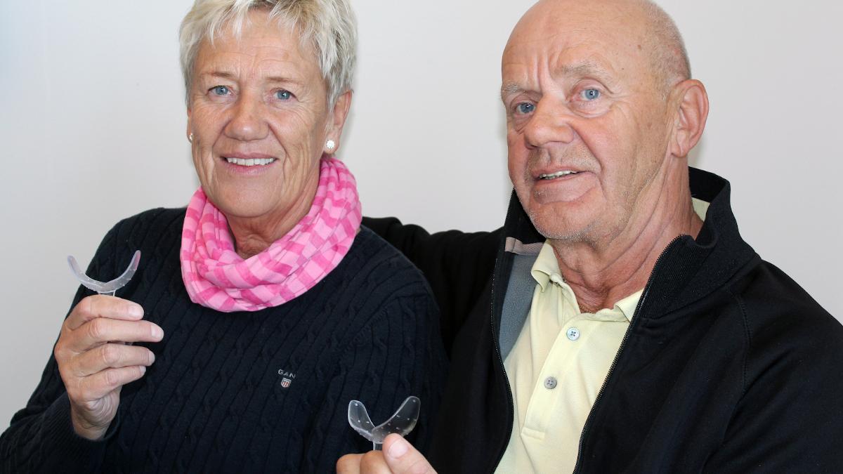 Eva och Roland tränar med IQoro