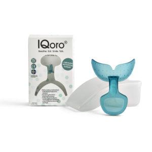 IQoro med förpackning