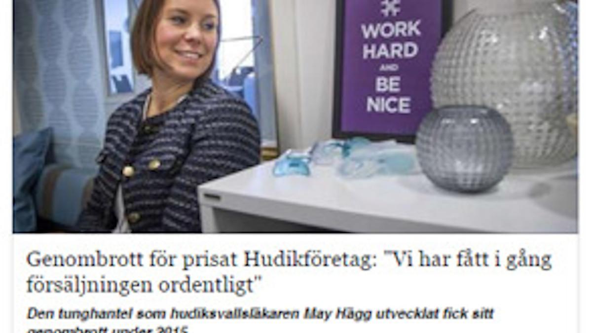 Ylavli i artikel i Hela Hälsingland