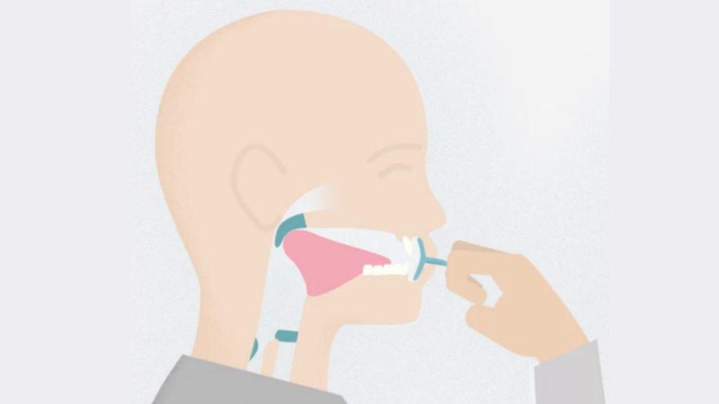 IQoro i munnen vid träning