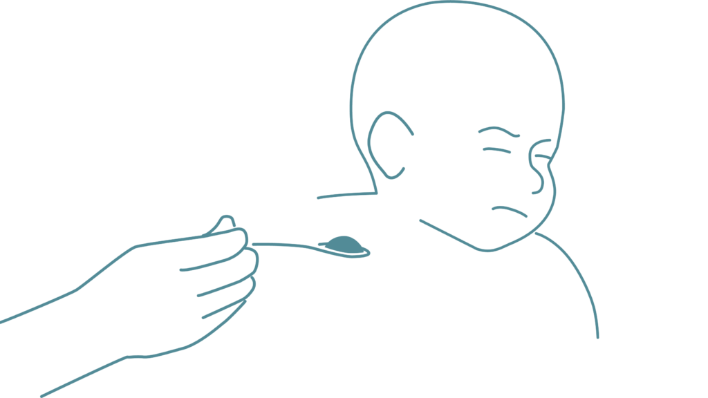Matvägran hos barn kan bero på diafragmabråck